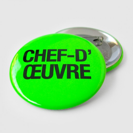 CHEF D'OEUVRE