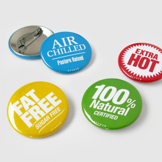 BADGES PUBLICITAIRES